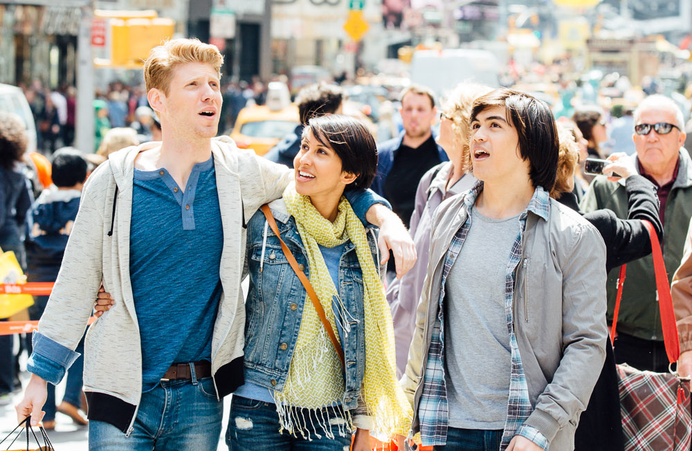 Friends shopping near 20 Times Square location